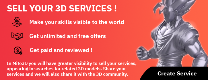 Mito3D service offer