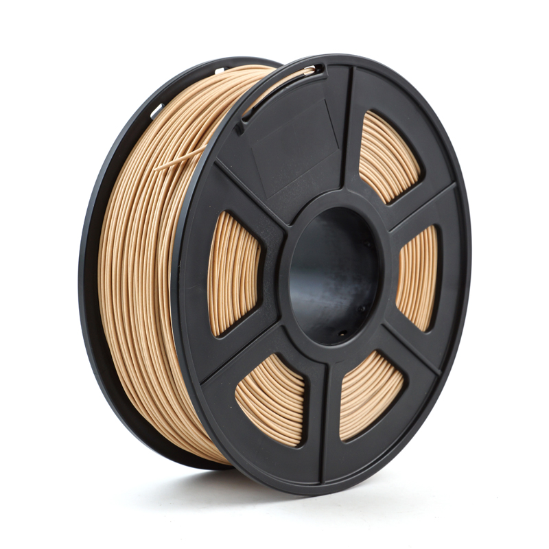 3D Printer Filament Wood 1.75mm 1kg/2.2lb wooden plastic compound material based on PLA containing wood powder