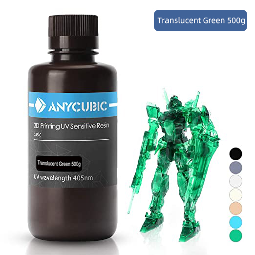 ANYCUBIC 405nm UV Resin For Photon 3D Printer Photon-S Printing Material LCD UV Sensitive Normal 500 ml/1L Liquid Bottle